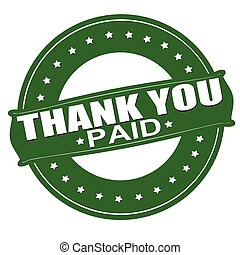 Thank you paid