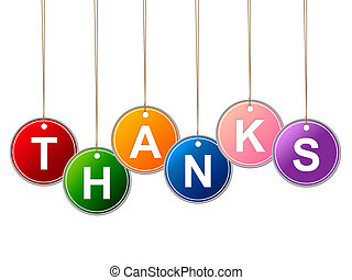 Thank You Shows Many Thanks And Appreciate - Thank You...