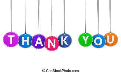 Thank You Sign Concept - Thanks giving concept with thank...