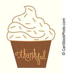 Thankful Cupcake