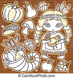 thanksgiving, éléments, 1