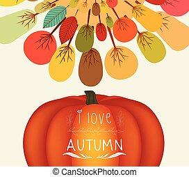 Thanksgiving. Autumn background