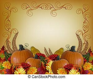 Thanksgiving Autumn Fall Background
