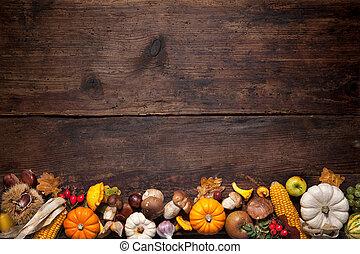 Thanksgiving background - Harvest or Thanksgiving background...