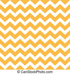 Thanksgiving Chevron pattern - yellow and white -...