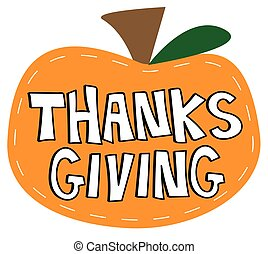 thanksgiving, citrouille