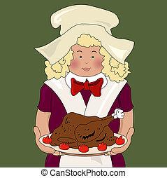 thanksgiving cook