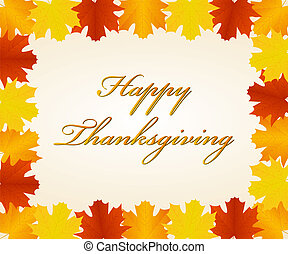 Thanksgiving day background - Background of Thanksgiving day...