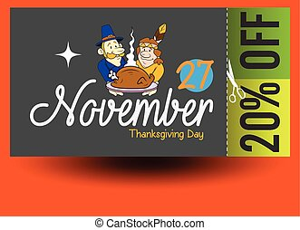 Thanksgiving Day Discount Coupon