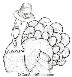 Thanksgiving day illustration