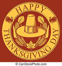 Thanksgiving Day label (symbol)