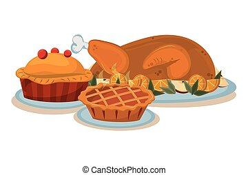 thanksgiving day pie