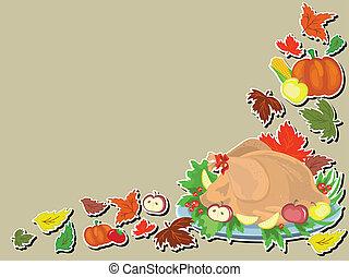 Thanksgiving day ,turkey cook