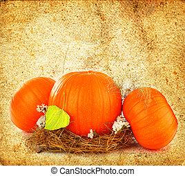 Thanksgiving holiday greeting card