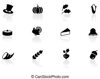 thanksgiving, icônes