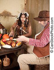 Thanksgiving indian