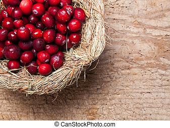 Thanksgiving nest of berries