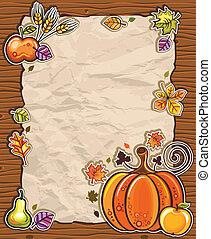 Thanksgiving paper arrangements 2