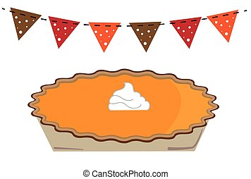 Thanksgiving Pumpkin Pie