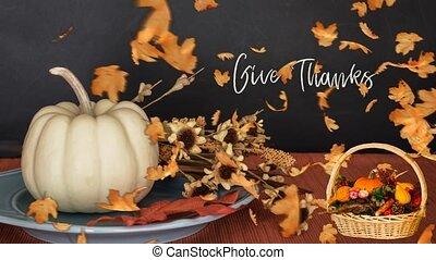 Thanksgiving Set 08 - Virtual Green Screen Background Loop...
