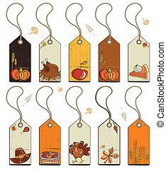 Thanksgiving tags 2