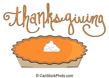 thanksgiving, tarte citrouille