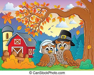 Thanksgiving theme image 4 - eps10 vector illustration.
