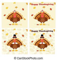 Thanksgiving Turkey Bird Collection - 2
