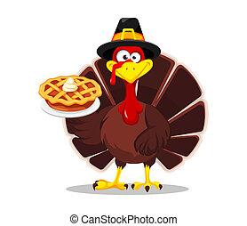 Thanksgiving turkey. Happy Thanksgiving day