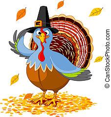 Thanksgiving Turkey - Illustration of a Thanksgiving turkey ...