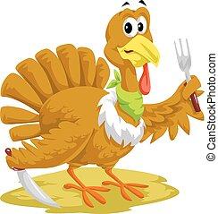 Thanksgiving Turkey, illustration