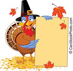 Thanksgiving Turkey with Holiday No - Thanksgiving Turkey ...