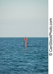 that is a lighthouse in the sea boyan