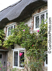Thatched cottage - Traditional English thatched cottage