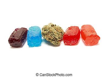 thc, marijuana, doce
