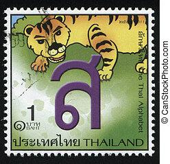 the, 信, ......的, the, 泰國字母表