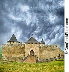the, 古老, 城堡