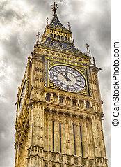 the, 大本鐘, 議會的房子, 倫敦