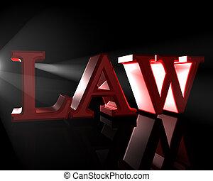 the, 法律