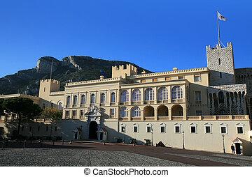 the, 皇家的宮殿, ......的, 摩納哥