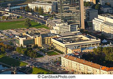 the, 立陶宛語, 議會建築物