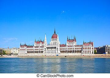 the, 議會, 在, 布達佩斯