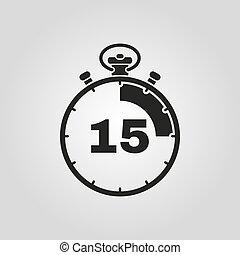 fifteen minutes timer
