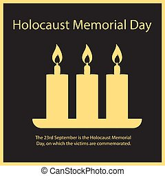 The 23rd September is the Holocaust Memorial Day, on which the victims are commemorated.