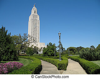 Louisiana State Capitol Building - the 450 ft. Louisiana...
