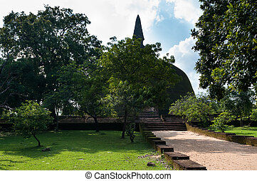 The 54m antient dagoba, Sri Lanka