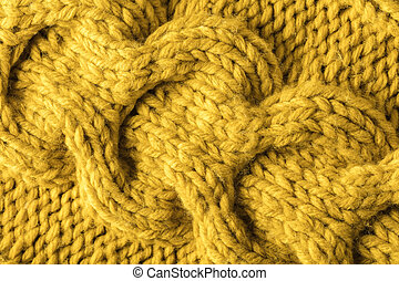 texture of a knitted fabric