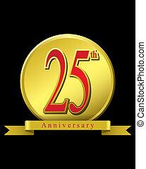 25 years anniversary