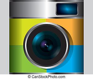 Camera photo vector