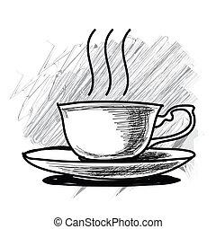 Cup of coffee - tea